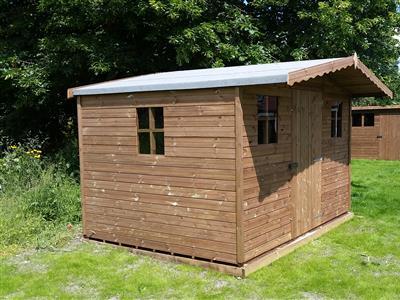 wooden garden sheds free fitting delivery beastsheds