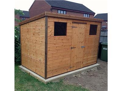 10x6 Pent-C Standard wood Garden shed