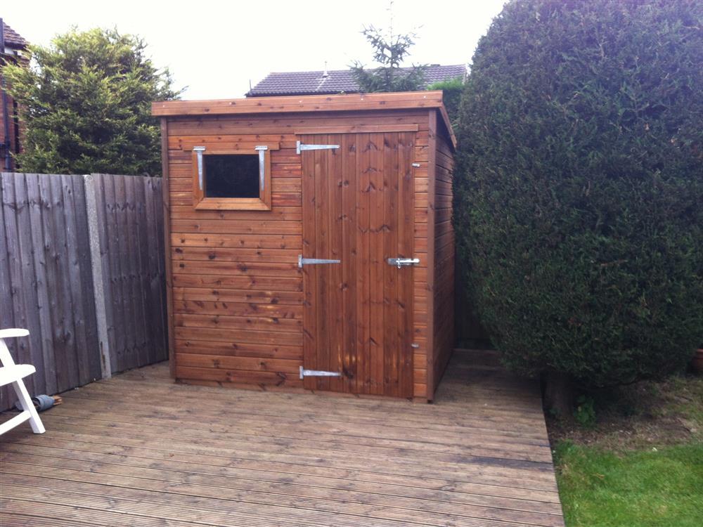 Garden Sheds 7x6 gallery - customer's sheds | beast sheds