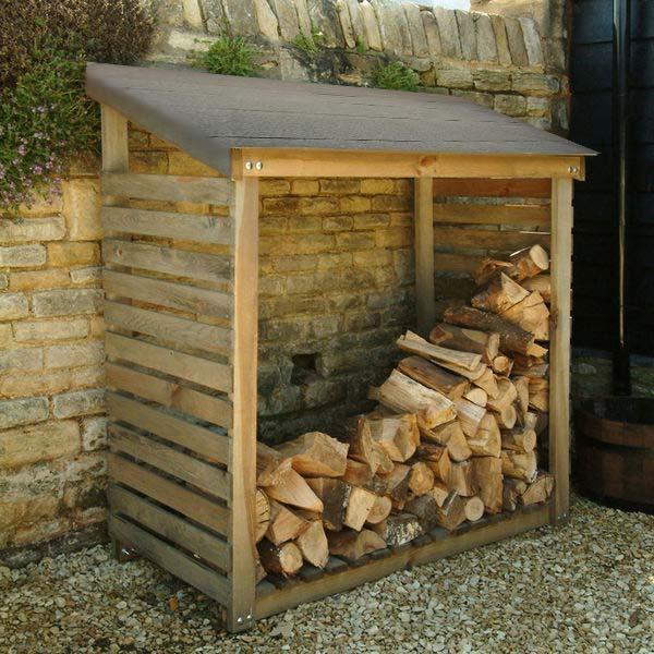 Log Storage Wood Storage